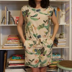 Maison Scotch botanical Acapulco dress